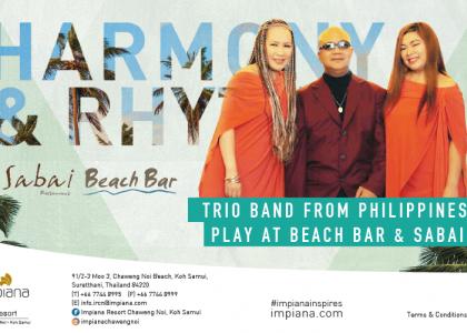 Trio Brand Harmony & Rhythm