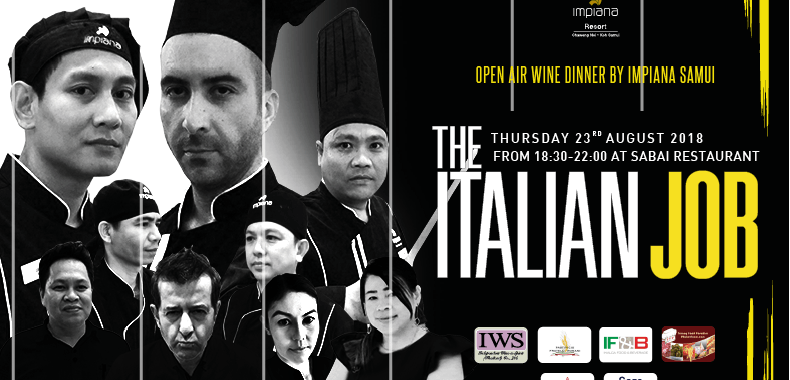The Italian Job - wine dinner
