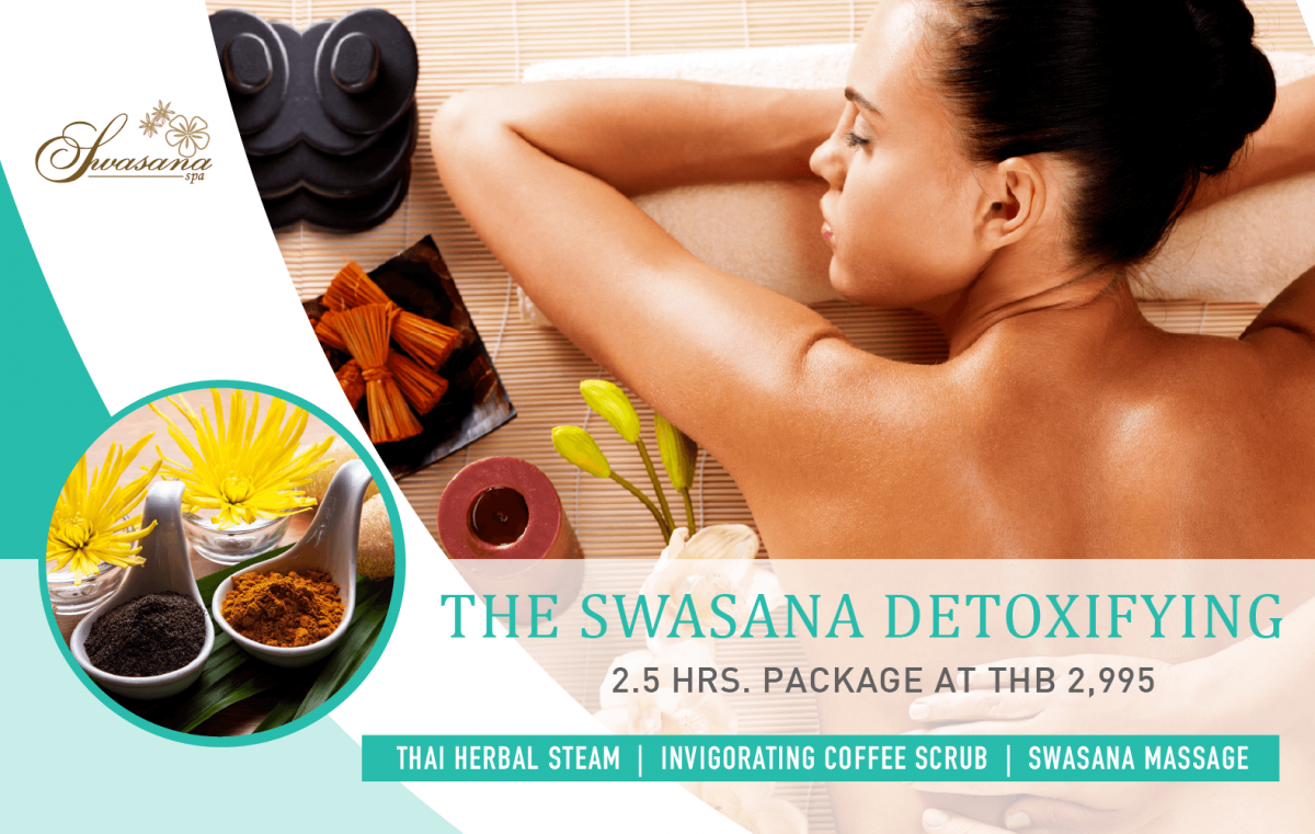 The Swasana Detoxifying Banner