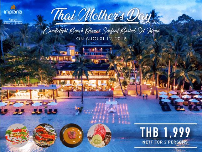 Mother day menu 2019